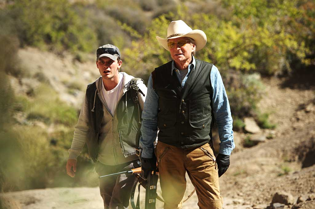 Michael Douglas and Jeremy Irvine star in Beyond the Reach