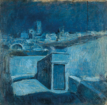 Barcelona rooftops by Pablo Picasso