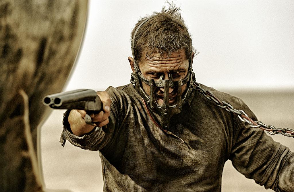 Tom Hardy stars in Mad Max Fury Road