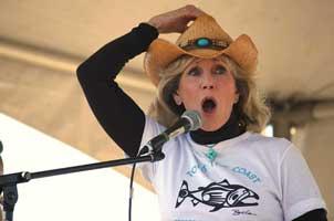 Jane Fonda at Jericho Beach for Toast the Coast