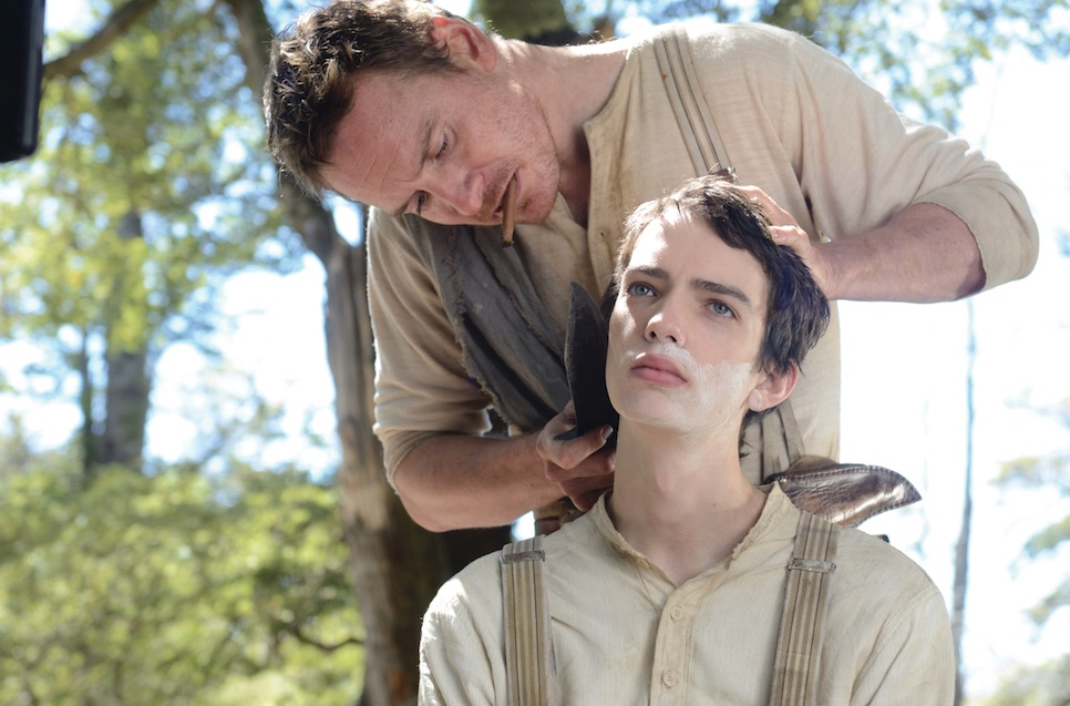Michael Fassbender and Kodi Smit-McPhee star in John Maclean's Slow West