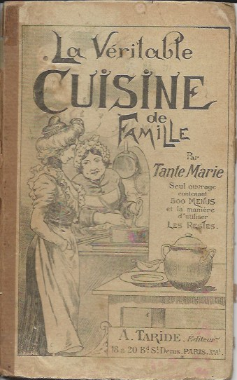 Tante Marie's Home Cooking Book