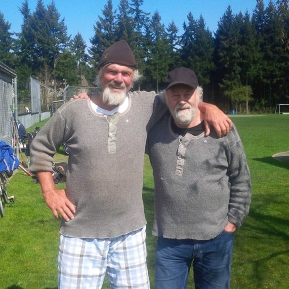 Spaceman Bill Lee and Sy Pederson