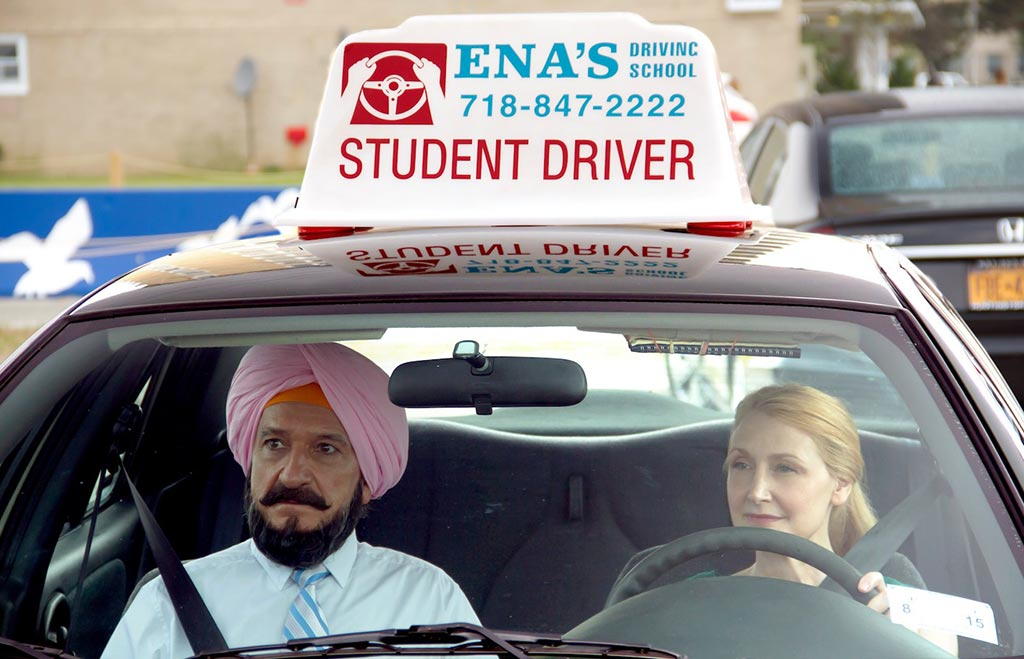 Ben Kingsley and Patricia Clarkson as Darwan and Wendy