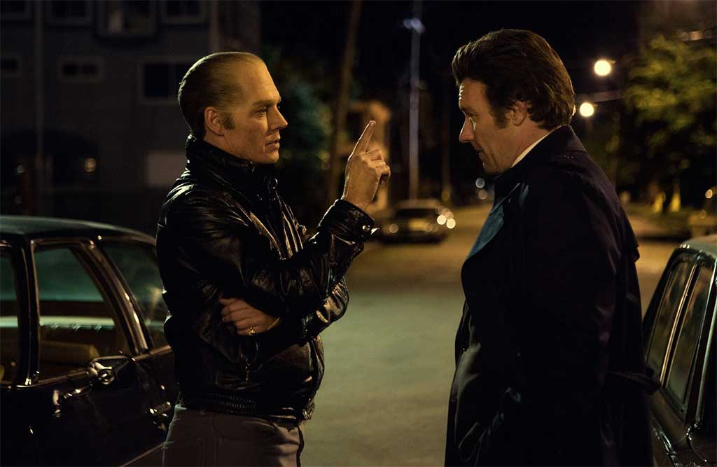 Johnny Depp and Joel Edgerton star in Scott Cooper's Black Mass