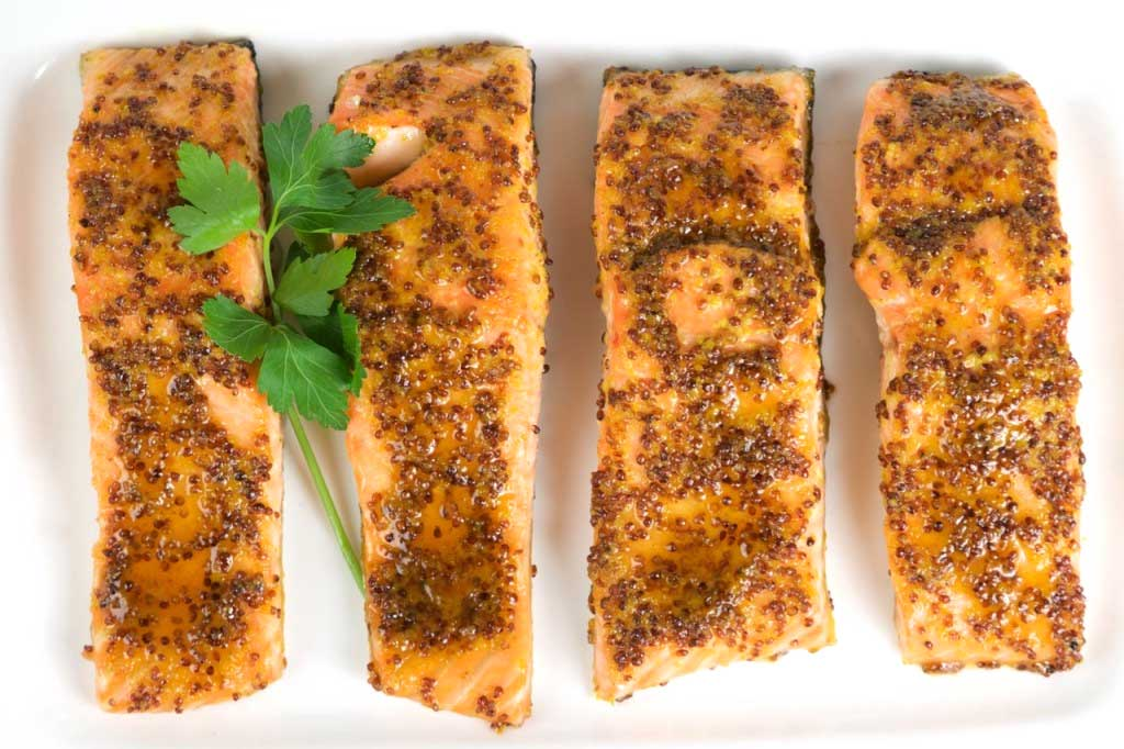 Maple Grilled Salmon - Photo by Louise Crosby