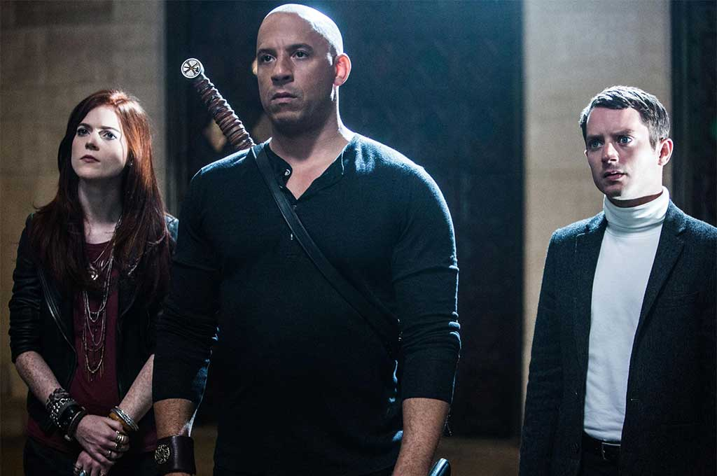 Rose Leslie Vin-Diesel Elijah-Wood in The Last Witch Hunter