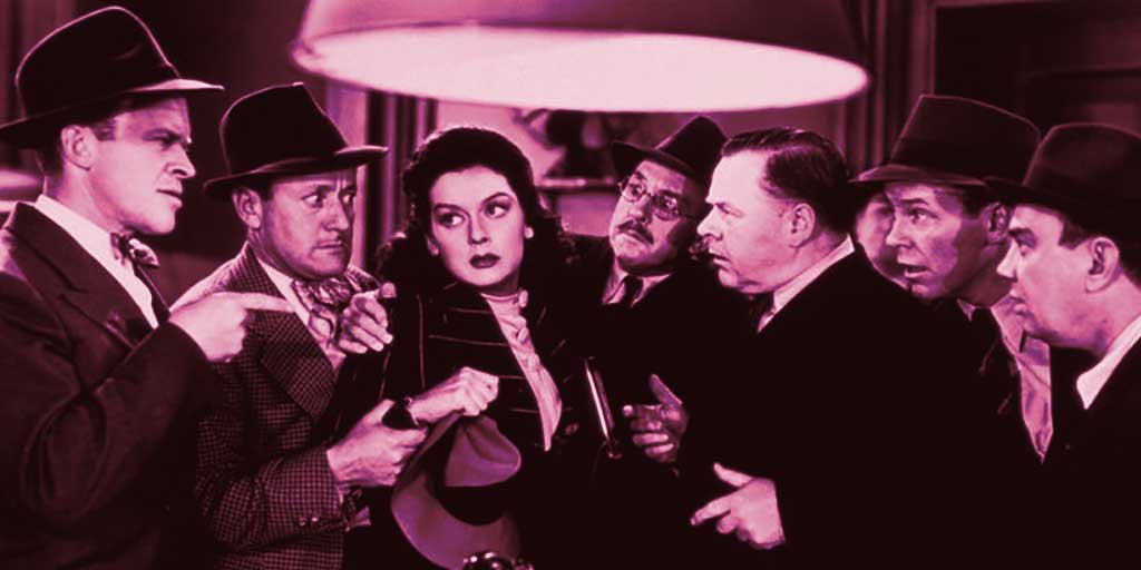 Still from movie His Girl Friday