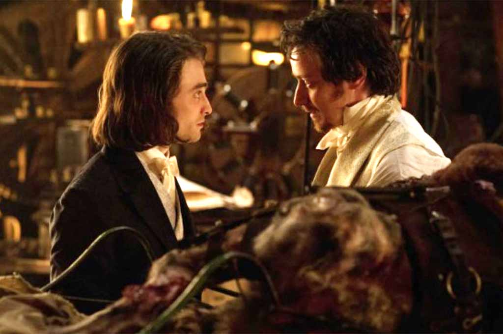 James McAvoy and Daniel Radcliffe star in Victor Frankenstein