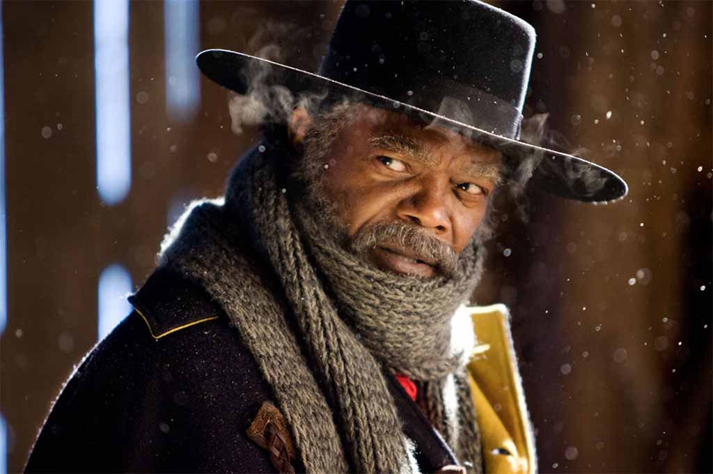 Marquis Warren played by Samuel L. Jackson