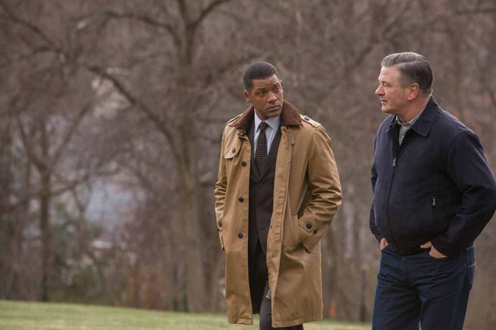 Movie review: Concussion, starring Will Smith and Alec Baldwin