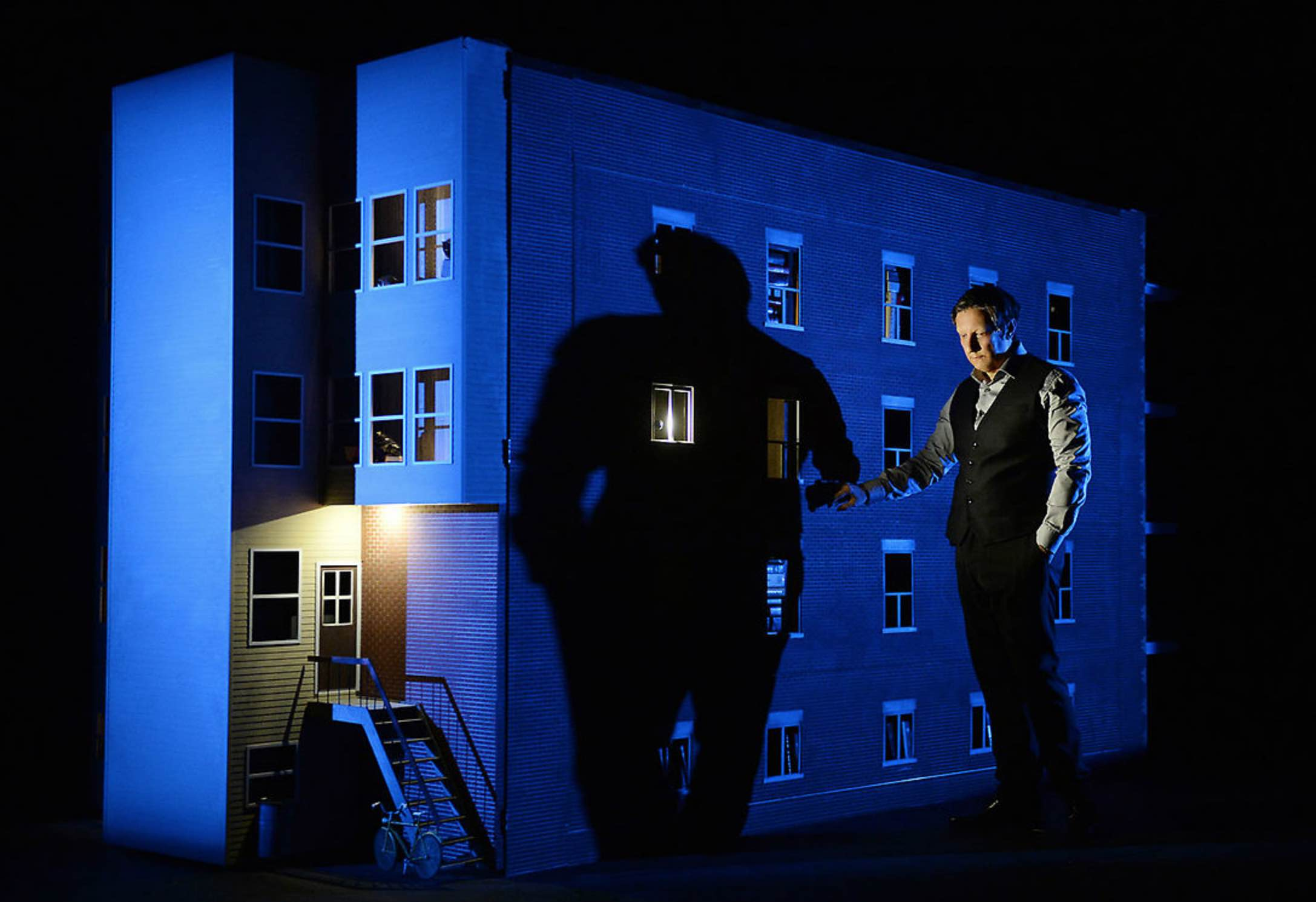 Robert Lepage 887 Theatre Set Quebec