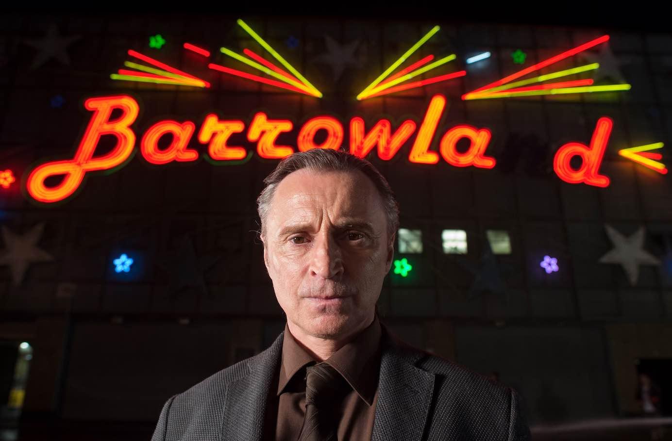 Robert Carlyle Barney Thomson Barrowland Ballroom Scotland Glasgow