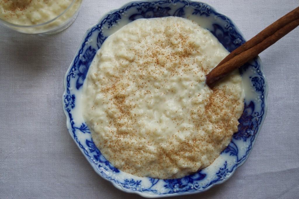vanilla bean rice pudding