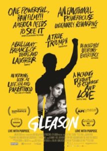 Steve Gleason Movie Documentary Poster