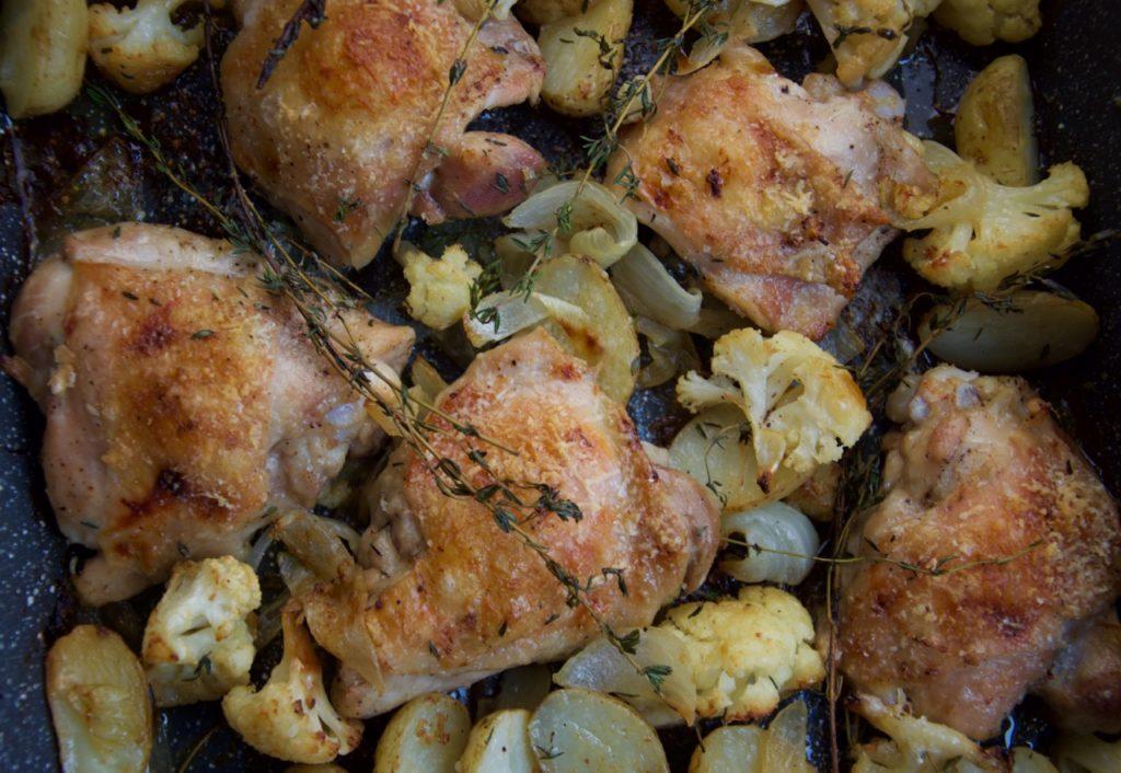 Roast chicken Louise Crosby