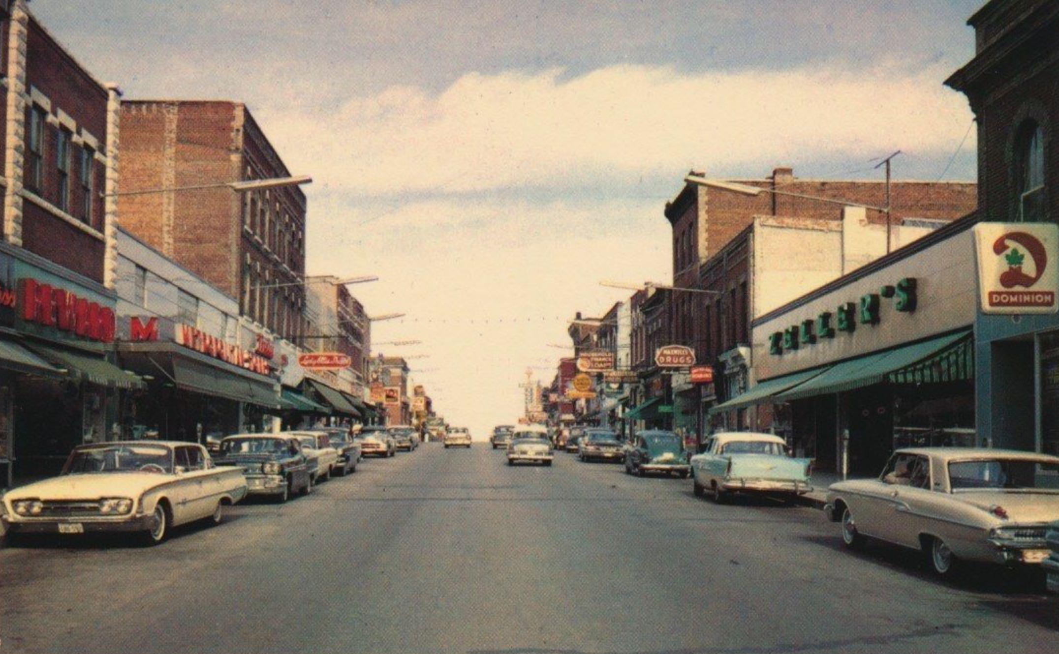 Orillia Ontario Circa 1960
