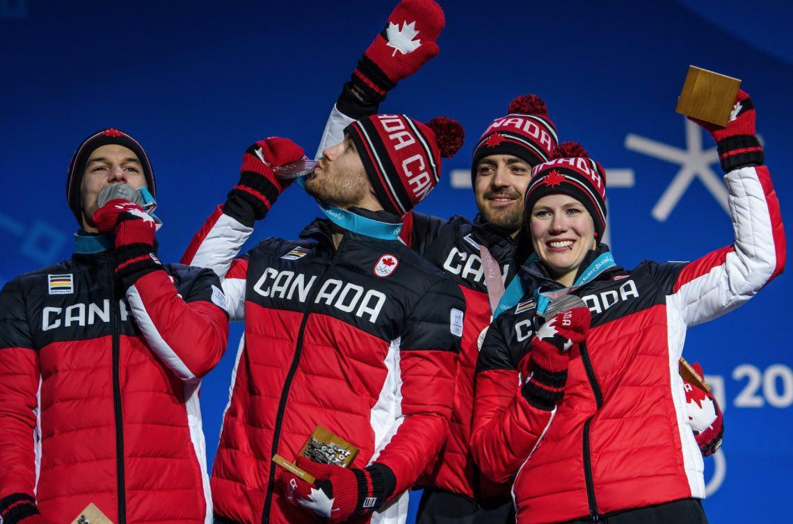 Team Canada Bobsled