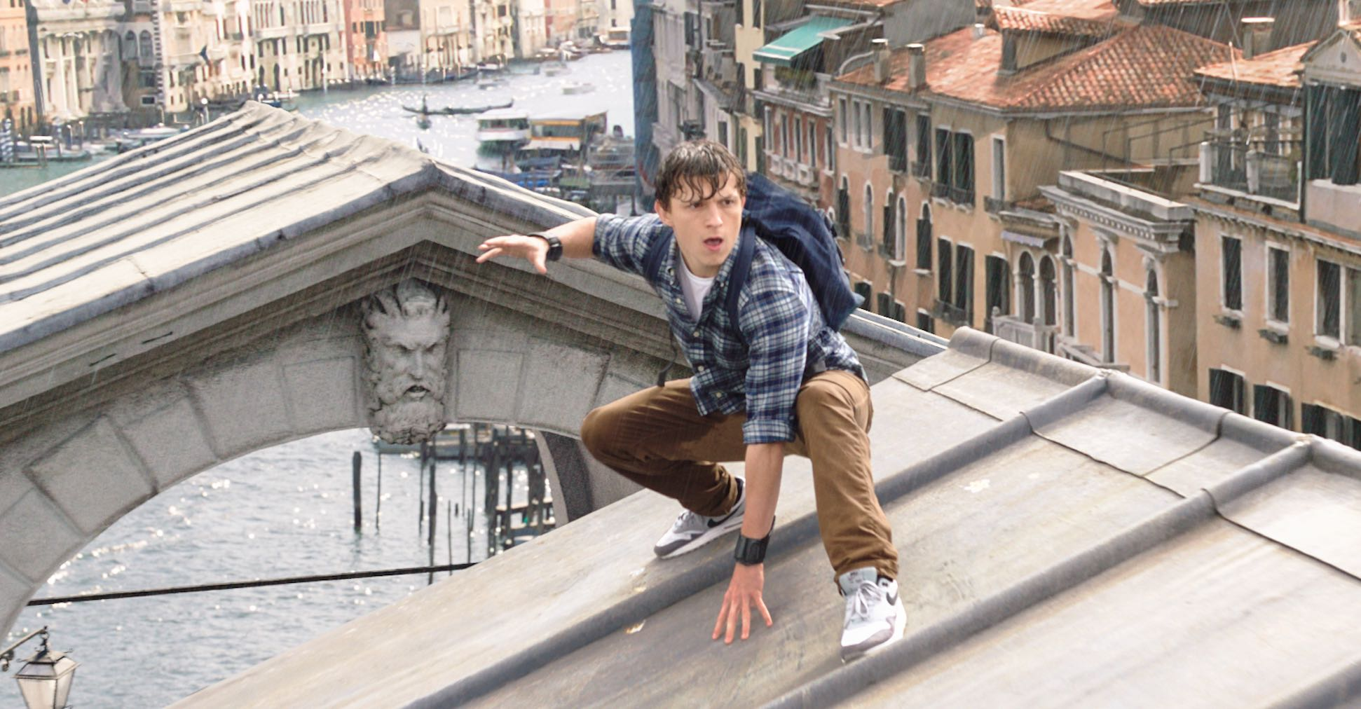 Spider-Man Far from Home in Venice